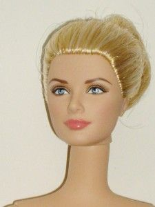MATTEL Barbie Silkstone Grace Kelly Doll w/ 2 Handmade Outfits Adult