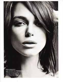 Keira Knightley Celebrity clippings Lot 3