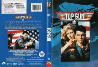 Classic Top Gun Movie DVD Tome Cruise Kelly McGillis