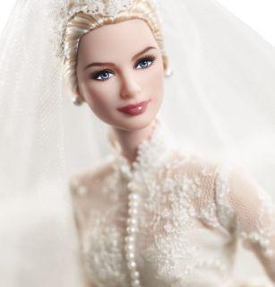 Barbie Two Silkstone Dolls Grace Kelly The Bride The Romance Trousseau