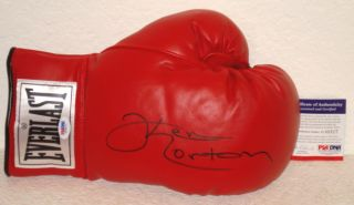 Ken Norton Autographed Everlast Boxing Glove PSA DNA