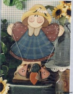 Kenna and Donna Garden Girl New Tole Paint Packet