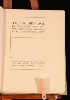1915 The Golden Age Kenneth Grahame R J Enraght Moony Illustrations
