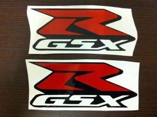A002 2L Large Suzuki GSXR GSX R Sticker Decal Emblem Stickers Decals