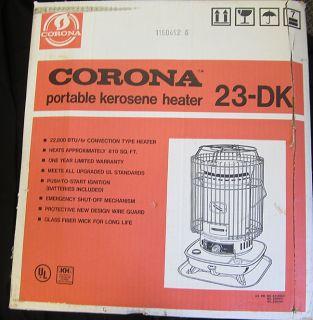 Corona Portable Kerosene Heater 23 DK