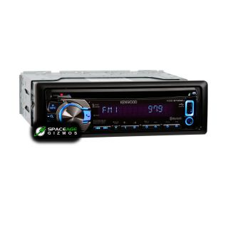 Kenwood KDC BT652U in Dash CD  WMA Car Stereo Receiver with