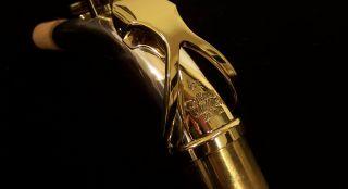 New Kessler Custom Handmade SOLID SILVER Alto Sax Neck   Selmer Tenon