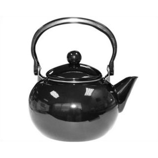 Lloyd Calypso Basics 64oz Harvest Tea Kettle in Black Set of 2