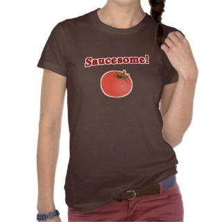 Saucesome Funny Italian T Shirt