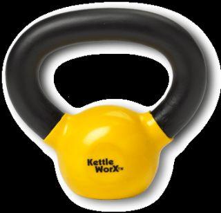 Kettleworx Kettlebell 6 DVD Set Plus 5 Pound Kettlebell New