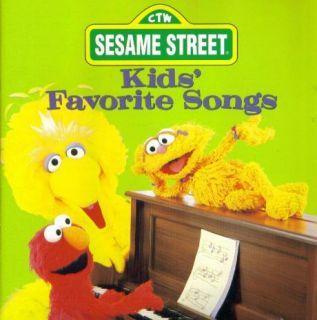 Sesame Street Kids Favorite Songs CD 15 Music Tunes