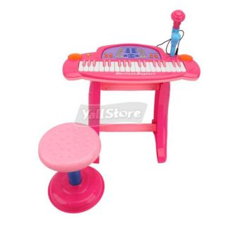 New Kids Piano Toy Keyboard Electronic Musical Instrument Pink