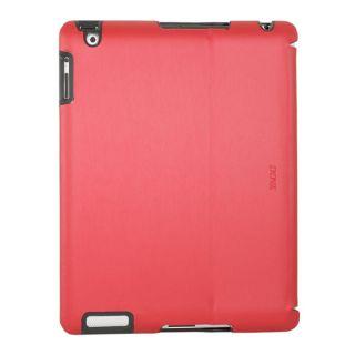 Zaggfolio Case w Bluetooth Keyboard for Apple iPad 3 2 Metallic Red