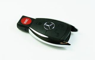 Buttons Mercedes Remote Chrome Replacement Smart Key Case Shell E G