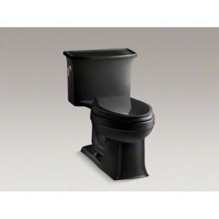 Kohler K 3639 7 Black Elogated One Piece Toilet