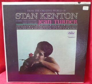Stan Kenton Jean Turner Exciting Creative LP Record