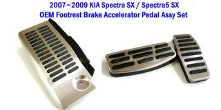 2007 2008 2009 Kia Spectra SX SPECTRA5 SX Foorest Brake Accel Pepal