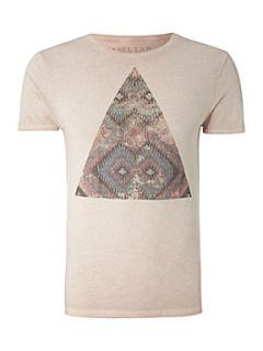 Label Lab Aztec print graphic T shirt Pink