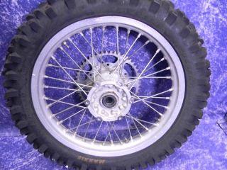 Yamaha WR450F Rear Excel Wheel Set 18 inch YZ250 YZ125 YZ450F 2000