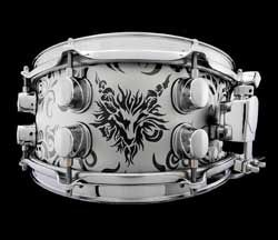 Mapex Limited Edition Black Panther Tribal Edition Snare
