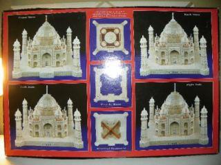 Puzz 3D Super Challenging Taj Mahal Jigsaw Puzzle 1077 Pieces Milton