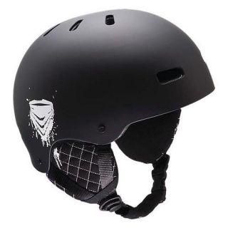 Kids Snow Helmet R E D Trace Ski Snowboard Kids Helmet Black Size s