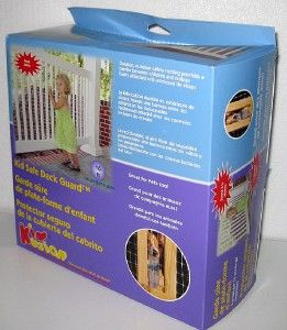 NEW KIDKUSION KID SAFE DECK GUARD Baby Child Pet Porch Fence Gate