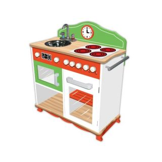 Teamson Kids My Little Chef Play Kitchen with Electric Stove Top TD