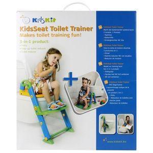 Kids Kit Toilet Training Potty Seat Step System 3 in 1