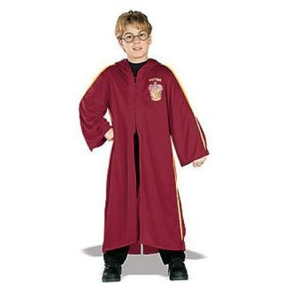 Harry Potter Quidditch Robe Child Boys Kids Halloween Costume