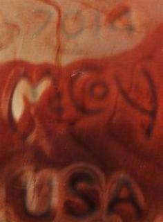 Vintage McCoy 1 Quart Brown Drip Casserole Crock 7014