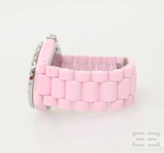 Kimora Lee Simmons for Hello Kitty Pink Ceramic Swiss Movement Watch