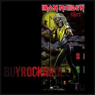 2011 NECA Iron Maiden Killers 7 inch Action Figure New LP Album Mascot