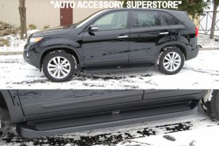 2011 UP KIA SORENTO RUNNING BOARDS; KIA DEALER APPROVED; EXACT CUSTOM
