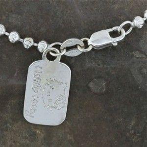Hello Kitty 1.05cttw Diamond Necklace Kimora Lee Simmons