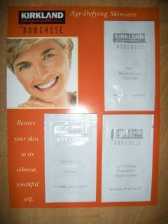 KS Borghese Age Defying Wrinkle Defense Serum, Restor. Night Cream