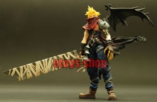 Kingdom Hearts Play Arts 2 Cloud Strife FF7 Figure
