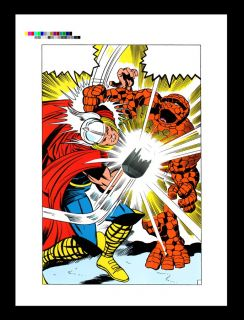Jack Kirby Fantastic Four 73 RARE Production Art PG 10