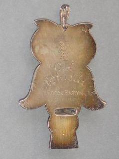 RARE Antique Vtg Halloween Witch Kirchhoff Noisemaker Tin Litho Black