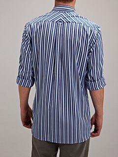 Gant Long sleeve classic fit blue vari stripe shirt Blue