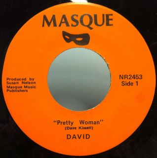 DAVID pretty woman / man on a mountain 7 VG+ NR2453 Private Soft Rock