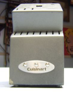 Genuine Cuisinart Kitchen Knife Block for Large Knife Set Sharpener