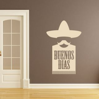 Buenos Dias Mexican Kitchen Wall Art Sticker Wall Mural Wall Decal DIY