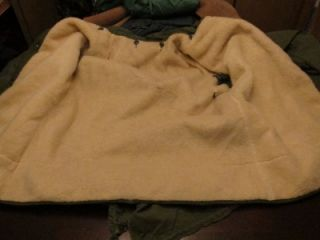 Vtg Kings Point Mens Military Extreme Cold Weather Parka M195 Sherpa