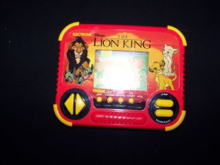 Tiger The Lion King 1990 Walt Disney LCD Handheld Electronic Game