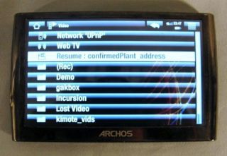 SGU STARGATE UNIVERSE DESTINY USED KINO REMOTE & ARCHOS DEVICE (FINAL