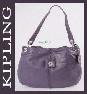 Kipling Mysterium Jerri Leather Hobo Handbag Purse New