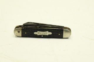 1950s Imperial 4 Blade Folding Boy Scout Knife