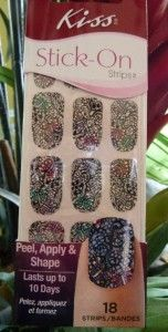 Kiss Stick on Strips Nail Dress Art Stickers Appliques Decals Lace