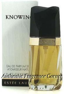 Knowing by Estee Lauder 2 5 oz 75ml EDP Spray for Women 027131024620